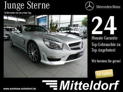gebraucht Mercedes SL63 AMG AMG DRIVERS MAGIC-SKY B&O DISTRONIC ILS