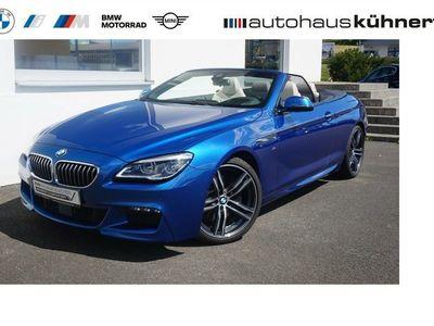 gebraucht BMW 640 Cabriolet i ///M Sport/ACC/adapt. LED