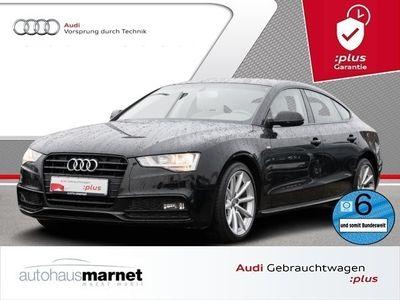 gebraucht Audi A5 Sportback 2.0 TDI S line Navi Tempomat Sitzheizung Bluetooth