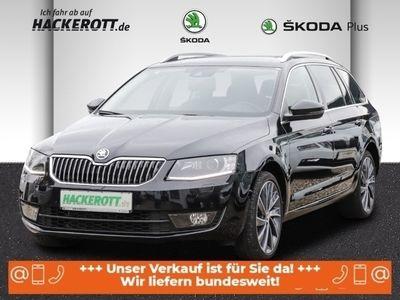 gebraucht Skoda Octavia Combi L&K 4x4 2.0 TDI Navi Standhzg Rückfahrkam- e-Sitze Parklenkass. Kurvenlicht