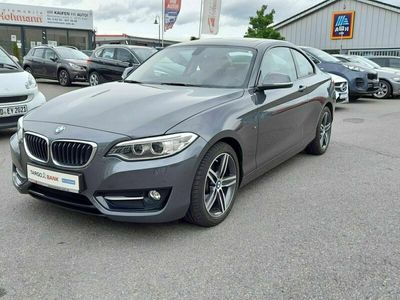 gebraucht BMW 220 i Aut. SPORT LINE NAVI-PROF BI-XENON S-DACH