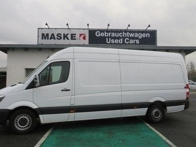 gebraucht Mercedes Sprinter 316 CDI Kasten Maxi Klima 3 Sitzer ZVFB