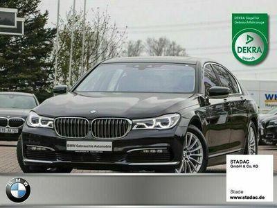 gebraucht BMW 740L d xdrive HUD Navi Vollleder K Standhzg