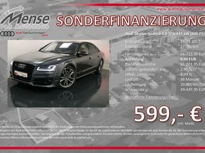 gebraucht Audi S8 plus 4.0 TFSI quattro tiptronic HUD AHK Navi