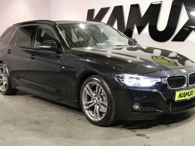 gebraucht BMW 330 i M Sport Steptronic Touring +LED +HuD +Shadow Line +Navi +Alcantara