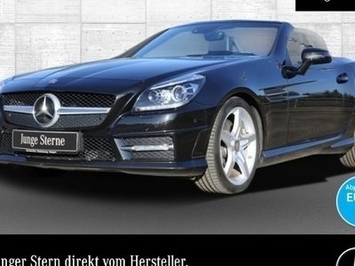 gebraucht Mercedes SLK300 AMG Magic Sky COMAND ILS Airscarf EDW 9G