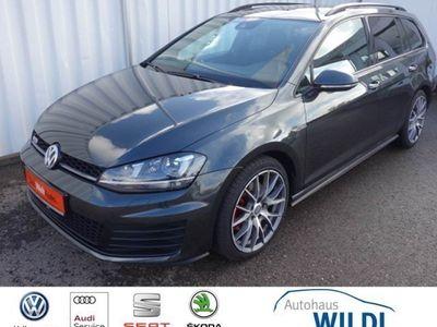 gebraucht VW Golf VII Variant GTD VII DSG AHK NAVI ACC PANO BT