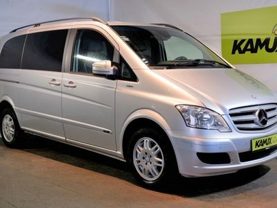 gebraucht Mercedes Viano 2.2 Automatik CDI Edition 7-Sitzer +Navi +Teil-Leder +Parktronic +Sitzheizung +Tempomat