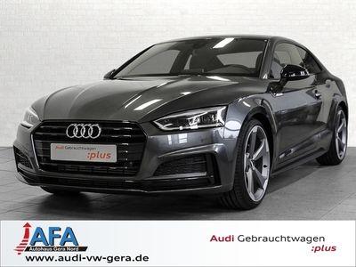 gebraucht Audi A5 Coupé 40 TFSI Sport S tronic 3x S-Line,Virt.CP,opt.Schwarz
