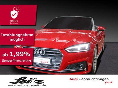 gebraucht Audi A5 Cabriolet S line 2.0 TFSI qu AHK*KAMERA*LED*N