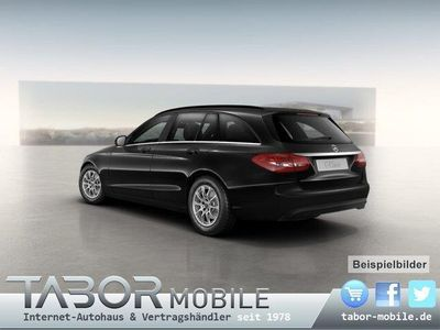 gebraucht Mercedes C200 T Nav Leder SHZ Klimaaut 16Z Tempom.