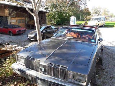 second-hand Oldsmobile Cutlass T-Top,V8..selten..Winterprojekt