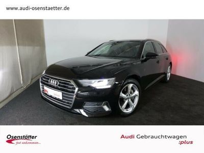 gebraucht Audi A6 Avant 45 TDI qu/Pano/Leder/Navi+/virtual/DAB