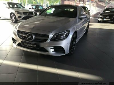 gebraucht Mercedes C220 d 4M Coupé AMG Line Panorama LED Navi Park Klima