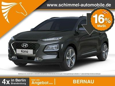 gebraucht Hyundai Kona 1.0 T-GDI Trend Klima Rückfahrkamera