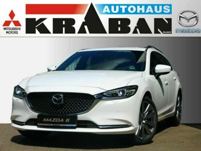 gebraucht Mazda 6 Kombi Sports-Line Plus-Paket