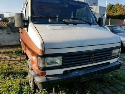 gebraucht Peugeot J5 F290 P Diesel Wohnmobil mit Fenster