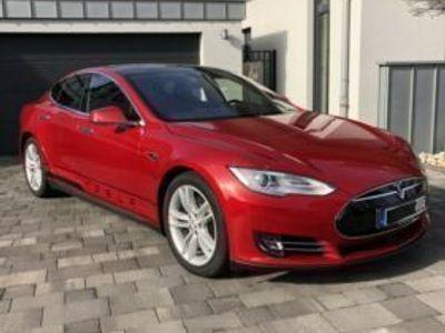 gebraucht Tesla Model S 85D Bj. 2015, Auto und Akku super gepflegt