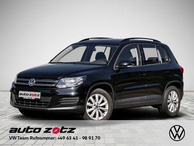 gebraucht VW Tiguan Trend Fun 2.0 TDI AHK Bluetooth Klima