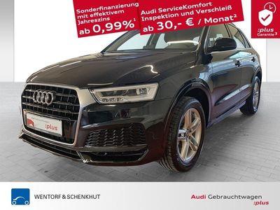 gebraucht Audi Q3 1.4 TFSI S-line / MMI Navi / Fernlichtassistent / Sound