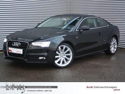 gebraucht Audi A5 Coupé S line selection 2,0TDI EU6 multitr. Leder Navi sound GRA