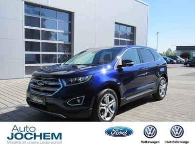 gebraucht Ford Edge Titanium 4x4 Bi-Turbo LED Navi Klimasitze P