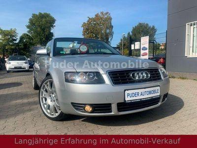 """gebraucht Audi A4 Cabriolet 2.4 V6 5-Gang Leder 18""""BBS SHG TOP """