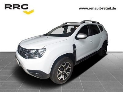 gebraucht Dacia Duster 1.2 TCe 125 PRESTIGE 4x4 AHK, Leder, RII