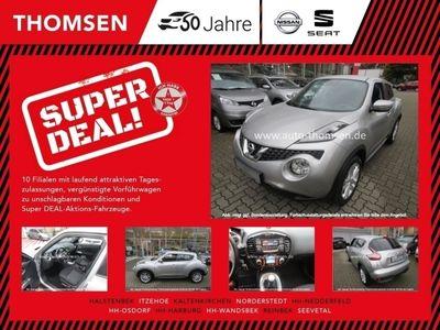 gebraucht Nissan Juke 1.5 dCi Acenta Klima ALU 17 Zoll Tempomat