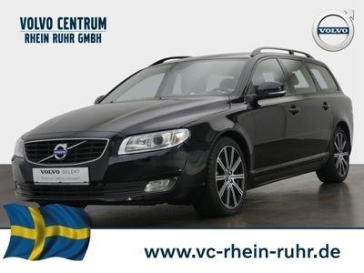 gebraucht Volvo V70 Kombi Black Edition D5 Leder Navi Dyn. Kurvenlicht Klimasitze El. Heckklappe PDCv+h