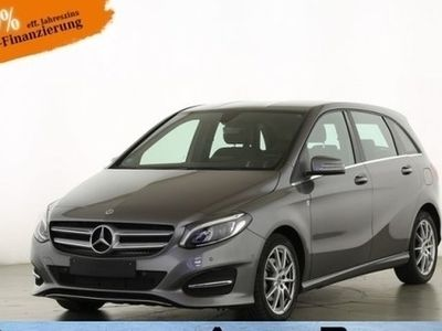 gebraucht Mercedes B180 Urban 7G LED Navi RFK Spiegel-Pkt Sitzhzg Autom.