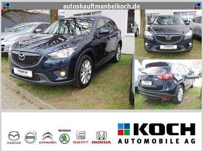 gebraucht Mazda CX-5 2.2 SKYACTIV-D Sports-Line AWD (Navi Xenon)