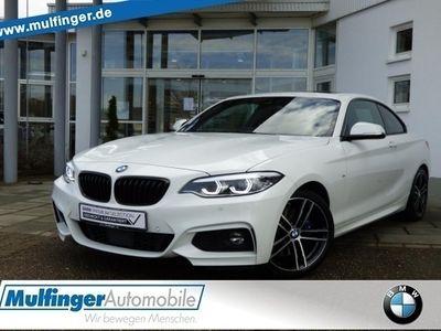 gebraucht BMW 220 d Coupe M Sport Ad-LED ACC Sp-A.Navi GlasDach