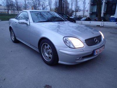 gebraucht Mercedes SLK200 Kompressor Roadster Klima unfallfr. EUR4