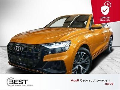 gebraucht Audi Q8 50 TDI quattro S-Line Matrix, Luft, Sthzg, Pano, AHK, VIRTUAL, Navi+, ACC