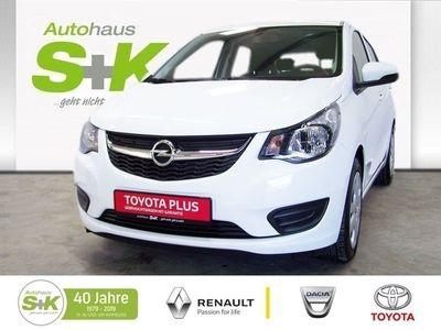 gebraucht Opel Karl ENJOY 1,0L 5Gang ABS+ ESP+ SERVO+USB