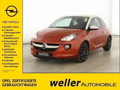 gebraucht Opel Adam GNTM 1.4 IntelliLink Parksensoren Sitzheizung