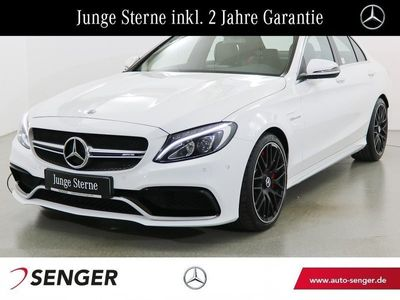 gebraucht Mercedes C63 AMG AMG S Drivers-Package Navi LED Sport-Abgas.