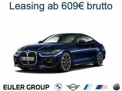 gebraucht BMW 420 I A Coupe M-Sport Leder LED Navi Keyless Kurvenlic