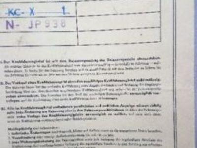 usado BMW 1600-2 aus 1969 mit Brief / runden Rückleuchten