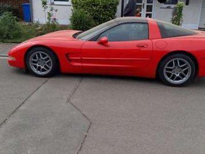 gebraucht Corvette C5 Ledersitze rot/schwarz Automatic