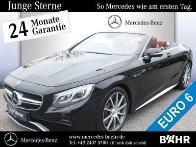gebraucht Mercedes S63 AMG AMG 4M Cabrio DriverŽs Package/NP:208.400