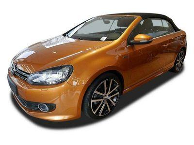 "gebraucht VW Golf Cabriolet 1.4 TSI DSG ""LOUNGE"" Navi Xenon"