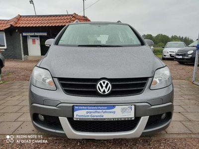 gebraucht VW Golf Plus Cross 1.9 TDI Klima,Scheckheft,AHK,Automatik
