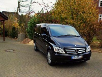 gebraucht Mercedes Vito 122 CDI Lang Aut. Mixto EFFECT Navi Xenon