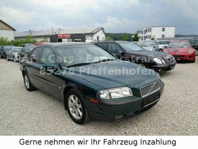 gebraucht Volvo S80 Lim. 2.9 Tüv 06/21, Klimaauto, Alu, D 4