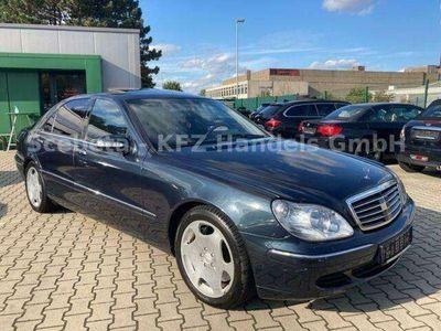 gebraucht Mercedes S600 Lang /ACC/FondEnt./4xE-Sitze/4xBelüf.Sitze