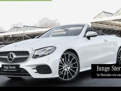 gebraucht Mercedes E300 Cabrio AMG Comand LED FahrassistenzP 20''