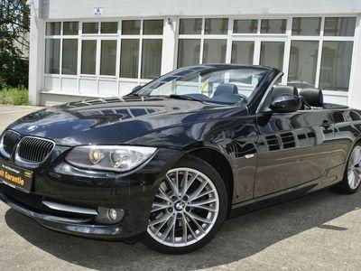 gebraucht BMW 330 Cabriolet d 2.Hand Dr. Fahrzeug Navi Bi-Xenon