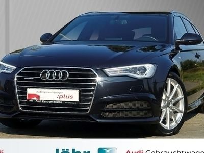 gebraucht Audi A6 Avant 2.0 TDI quattro S tronic S line*Teilleder